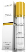 Genesea Perfecting Eye Cream Enriched w/ Witch Hazel, Dead Sea Minerals & Botanical Extracts | Helps Reduce Appearance of Dark Circles, Crow's Feet, Puffiness & Wrinkles - 30ml - 3 Months Supplies