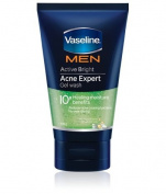 Vaseline Men Active Bright Acne Expert Gel Wash 100 G