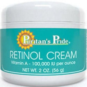 THE Best Retinol Cream 60ml Jar Puritan's Pride Vitamin a - 100,000 Iu Per Oz