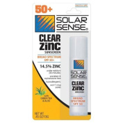 CLEAR ZINC LIPS/FACE SPF50 by Solar Sense