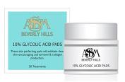 10% Glycolic acid pads, 50 glycolic acid pads ASDM Beverly Hills