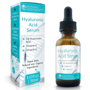 Dr. Straight's Hyaluronic Acid Serum Anti Ageing Serum with Vitamin C - Pharmacist Formulated