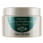 HANAKA Extremely Glacial Mineral Mud Face Pack 150g - worldwide shipping