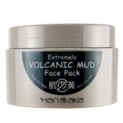 HANAKA Extremely Volcanic Mud Face Pack 150g - worldwide shipping
