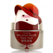 HANAKA Firming Red Wine Brulee Face Pack 150g - worldwide shipping