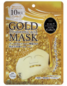 Pure Essence Japan Gals Pure Five Gold Essence Mask, 10 Count