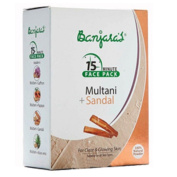 Banjara's Fuller's Earth Indian Clay and Sandalwood Facepack Combo, Best for Skin Rejuvination and Natural Glow- 100ml