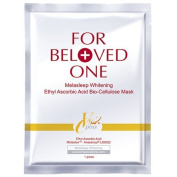 For Beloved One Melasleep Whitening Ethyl Ascorbic Acid Bio-Cellulose Mask 3Pcs / box