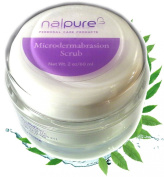 Microdermabrasion Facial Scrub by Nalpure Skin Care Products, At Home Professional Strength Exfoliating Effective Anti Ageing Skincare, Reduces Blemishes and Imperfections, Improves Skin Tone