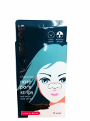 3 Packs of Watsons Charcoal Nose Pore Strips with Witch Hazel Extract .