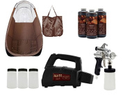 MaxiMist SprayMate Pro Spray Tanning System with Brown Tent