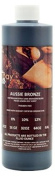 Aussie Bronze 240ml of 10%, Med/Med Dark DHA Sunless Airbrush Spray Tanning Solution