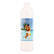 Belloccio Simple Tan Pint Bottle of Professional Salon Sunless Tanning Solution with 8% DHA and Dark Bronzer Colour Guide