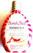 New Bombshell Tanning Bed Lotion 100x Hot Tingle w/ Bronzer By Designer Skin