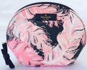 Kate Spade Keri Grant Street Feather Cosmetic Bag Case Great Gift Idea