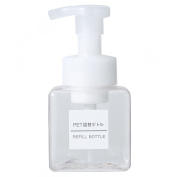 MUJI PET Refill Bottle Foam Type Clear/transparent · 250ml
