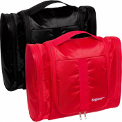 Baglane Hanging Toiletry Bag - Techlife Nylon Travel Luggage - 2 Pack