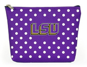 LSU Tigers Polka Dot Pouch