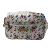 Wash Bag Daisy Summer Travel Womens Toiletry Make Up Holiday Zipper Cosmetic