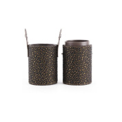 High Quality Beauty Upscale Phnom Penh Brush Cup Holder Cosmetic Brushes Case Black