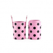 High Quality Beauty Cute Brush Cup Holder Cosmetic Brushes Case Spot Pink