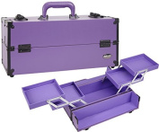 Seya Modern Makeup Artist Cosmetic Case with 4 Slide Out Trays