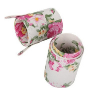 High Quality Beauty Flower Brush Cup Holder Cosmetic Brushes Case Flower