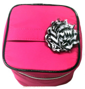 2015 Cosmetic Makeup Organiser Travel Train Case Bag, Pink or Black