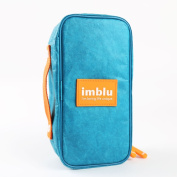 Imblu Multi-functional Men's Women's Waterproof (Tyvek) Travel Accessories Toiletry Bag,Cosmetic Makeup Organiser Storage Hand Bag Pouch