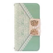 iphone6s Plus, 14cm Fresh Cute Flip Wallet Leather Case Cover