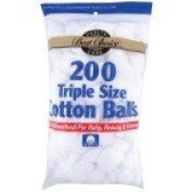 Best Choice Cotton Balls 200 Ct