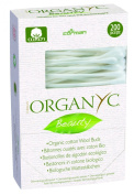 Organyc - Organic Cotton Wool Buds - 200 Count - Pack of 3