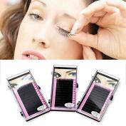 Makeup Individual False Eyelashes Thick Curl Eye Lash Extensions 8mm