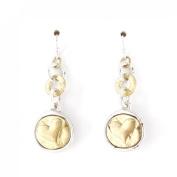 Cute Sweet Heart Dangle Drop Earrings