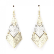Special Triangle Dangle Drop Earrings