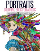 Portraits Coloring Book for Adults