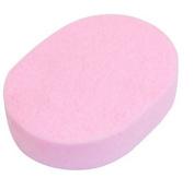 DMtse Ladies Oval Shape Washable Bath Body Facial Cleaning Washing Sponge Pad X 6