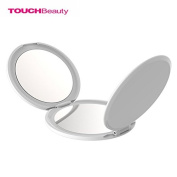 TOUCHBeauty Mini 3-Panelled Foldable Makeup Mirror 1x 2x 5x Ultrathin Portable Travel Mirror
