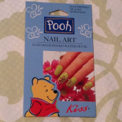 Winnie the Pooh Nail Art Custom Designed Water Decal- 100 Acre Happening
