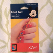 Disney Mickey Mouse Nail Art Custom Design Water Decal