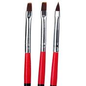 iseebiz Uv Gel Acrylic Nail Tips Nail Art Builder Brush Pen Drawing