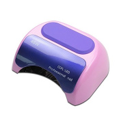 iMeshbean Professional 48W Purple Colour 2 in 1 CCFL & LED UV Nail Gel Lamp Fast Dryer with Timer USA