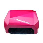 iMeshbean Professional 36W Rose Colour 2 in 1 CCFL & LED UV Nail Gel Lamp Dryer with Timer USA