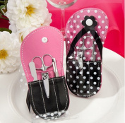 Polka Dot Flip Flop Design Manicure Kit