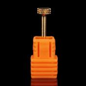 XX Shop Pro Gold Grinding Head Nail Drill Bits For Nail Drill Machine