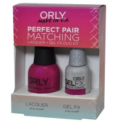Orly Perfect Pair Matching Lacquer and Gel Duo Kit, Hawaiian Punch