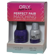 Orly Perfect Pair Matching Lacquer and Gel Duo Kit, Charged Up
