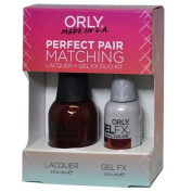 Orly Perfect Pair Matching Lacquer and Gel Duo Kit, Star Spangled