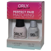 Orly Perfect Pair Matching Lacquer and Gel Duo Kit, Kiss the Bride