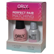 Orly Perfect Pair Matching Lacquer and Gel Duo Kit, Lift the Veil